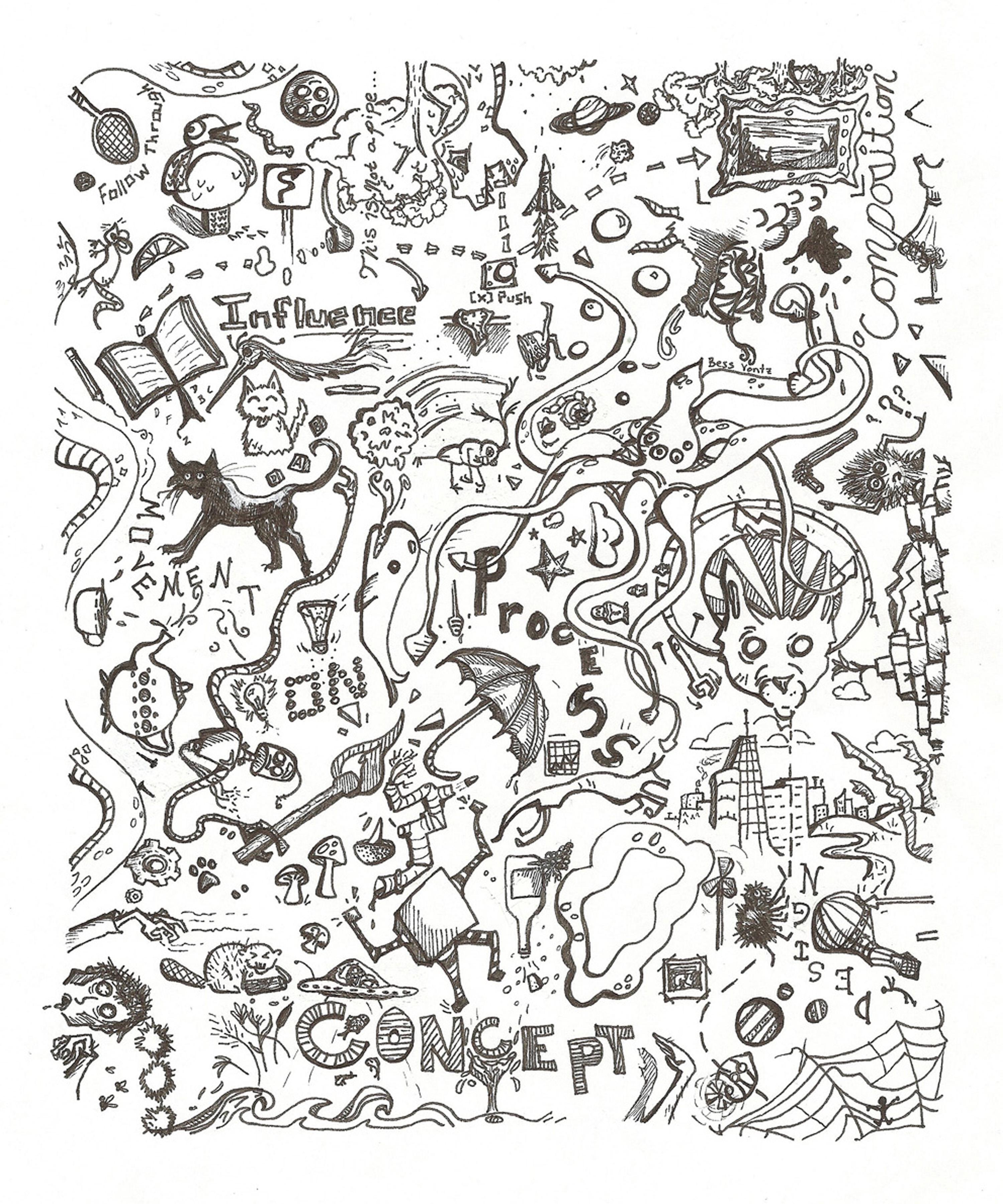 Random Doodles Related Keywords - Random Doodles Long Tail ...