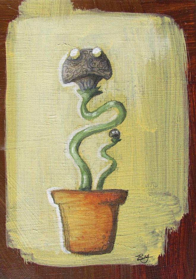 Brain, Mushroom Plant Thingy Large copy
