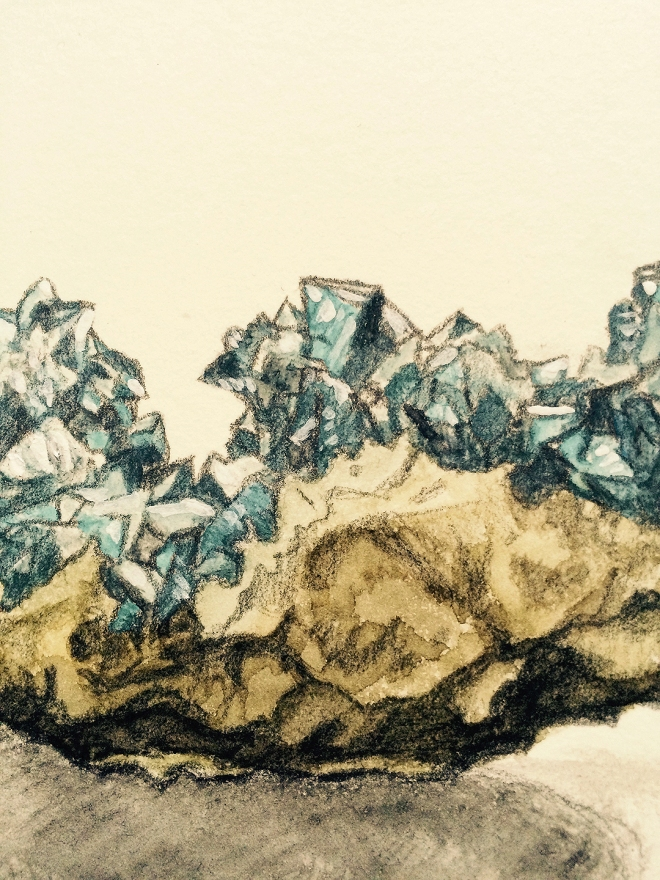 Stone Watercolor Crop